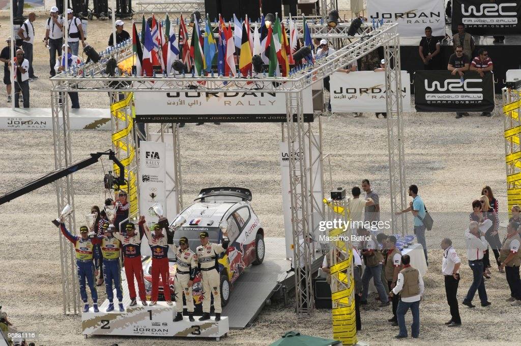 FIA World Rally Championship Jordan - Leg 3
