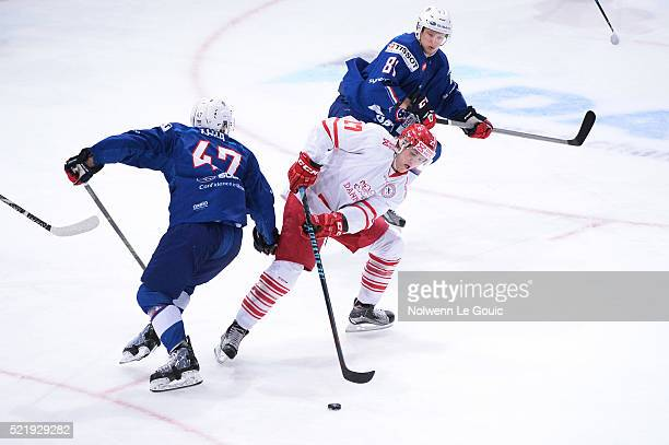Mikkel Aagaard of Denmark during the International Friendly Match between France and Denmark at AccorHotels Arena on April 17 2016 in Paris France