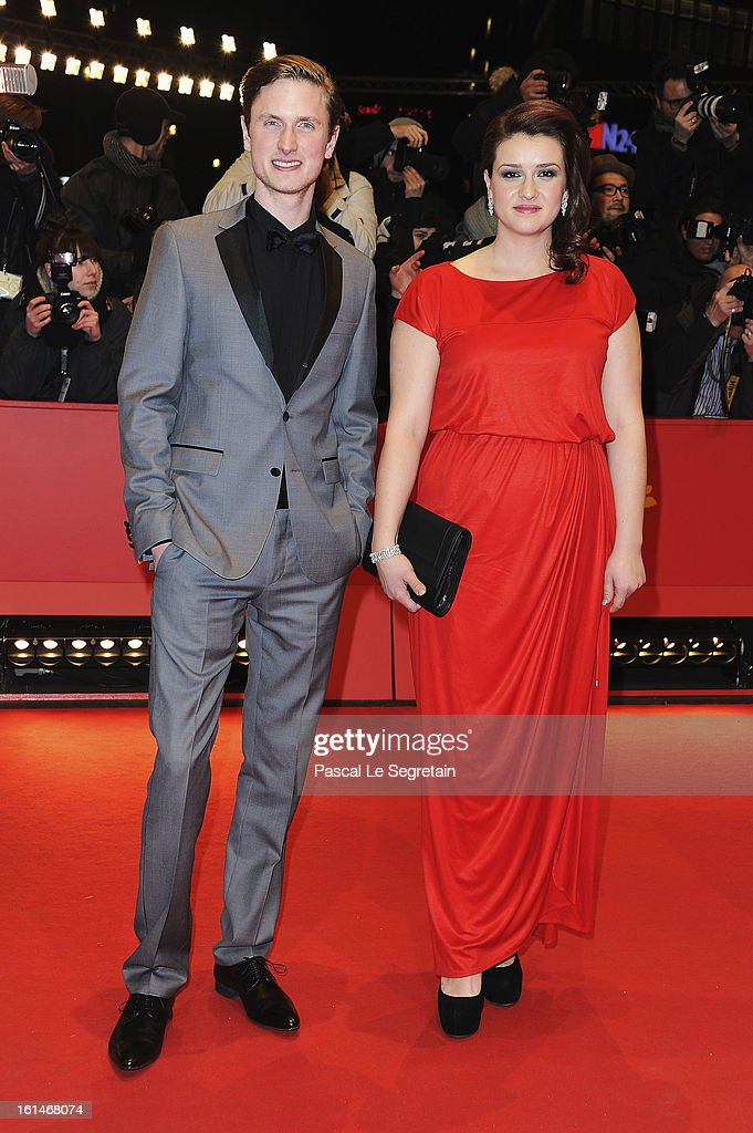 Mikkel Boe Folsgaard and Nermina Lukac attend the 'Before Midnight' Premiere during the 63rd Berlinale International Film Festival at the Berlinale Palast on February 11, 2013 in Berlin, Germany.
