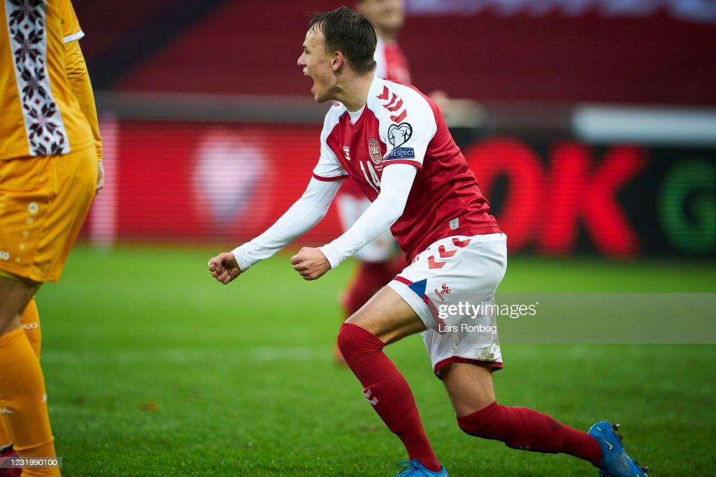 Denmark vs Moldova - FIFA World Cup 2022 Qatar Qualifier : News Photo
