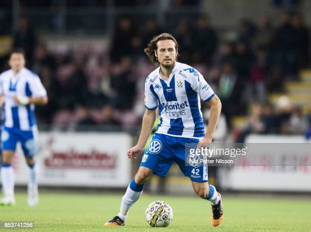 Mikkel Diskerud of IFK Goteborg during the Allsvenskan match between Athletic FC Eskilstuna and IFK Goteborg at Tunavallen on September 25 2017 in...