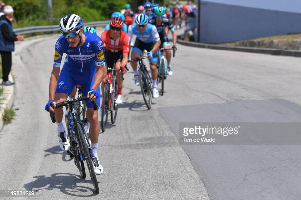 L'AQUILA ITALY MAY 17 Mikkel Frolich Honore of Denmark and Team Deceuninck QuickStep / during the 102nd Giro d'Italia 2019 Stage 7 a 185km stage from...