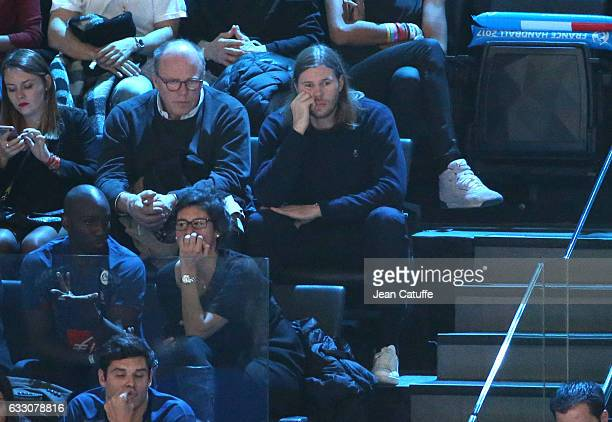 Mikkel Hansen attends the 25th IHF Men's World Championship 2017 Final between France and Norway at Accorhotels Arena on January 29 2017 in Paris...