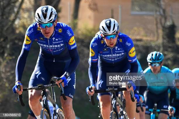 Mikkel Honoré of Denmark and Team Deceuninck - Quick-Step & Josef Cerny of Czech Republic and Team Deceuninck - Quick-Step during the 9th Royal...