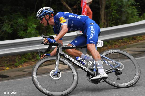 Mikkel Honore of Denmark and Team Deceuninck QuickStep / during the 3rd Tour Of Guangxi 2019 Stage 1 a 1356km stage from Beihai to Beihai /...