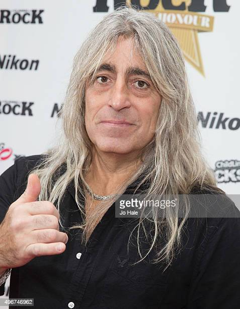 Mikkey Dee of Motorhead attends the Classic Rock Roll of Honour at The Roundhouse on November 11 2015 in London England