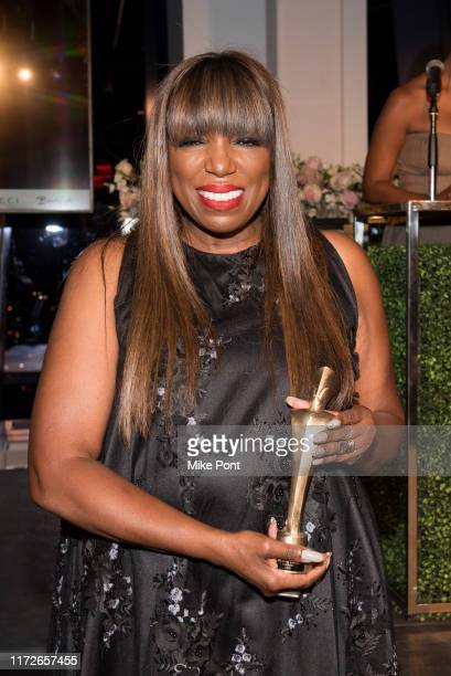 Mikki Taylor attends Harlem Fashion Row at One World Trade Center on September 05, 2019 in New York City.