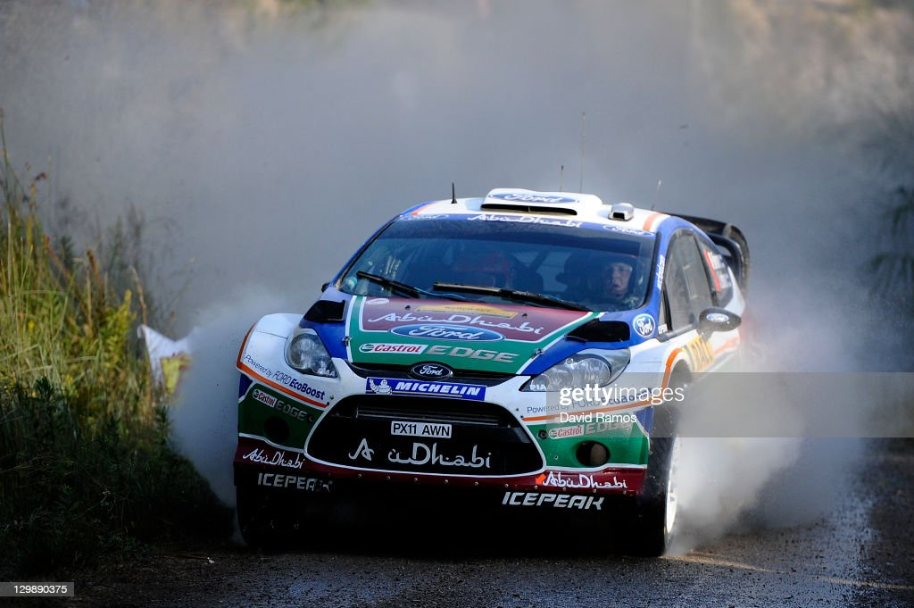 FIA World Rally Championship Spain - Day 1