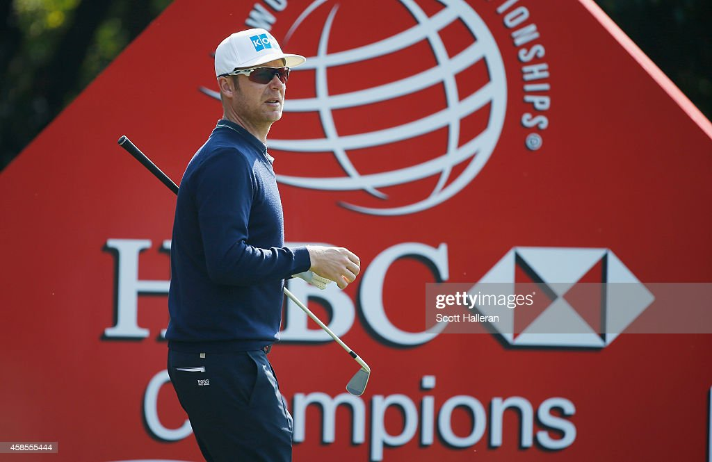 Mikko Ilonen of Finland walks on the fourth hole during the second round of the WGC - HSBC Champions at the Sheshan International Golf Club on November 7, 2014 in Shanghai, China.