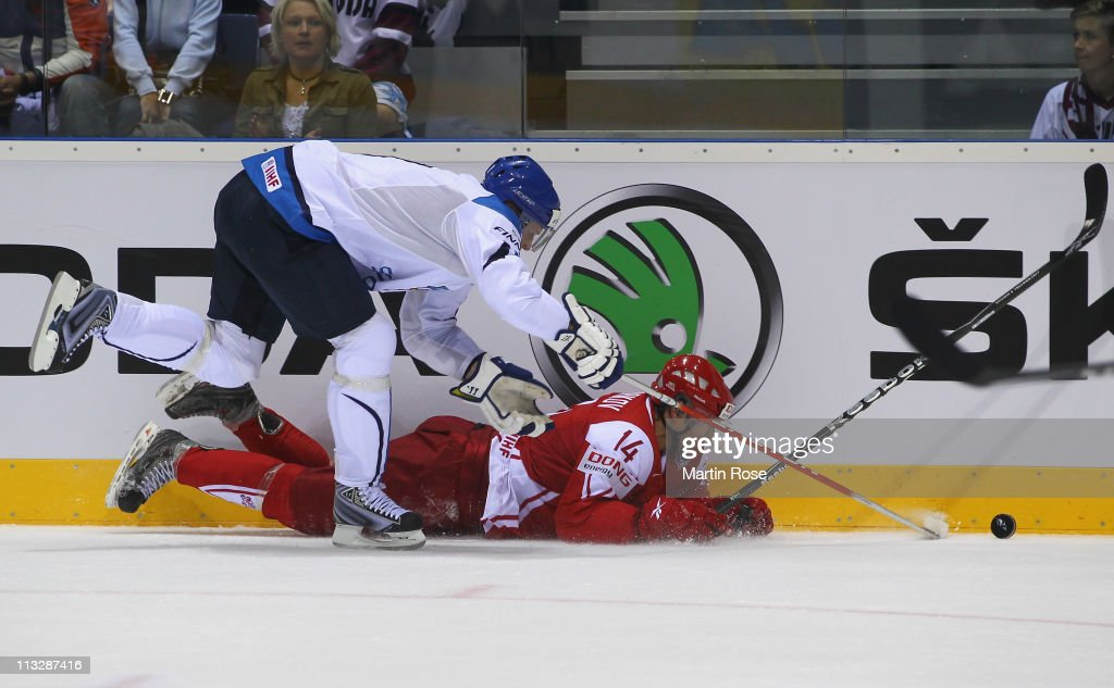 Finland v Denmark: Group D - 2011 IIHF World Championship