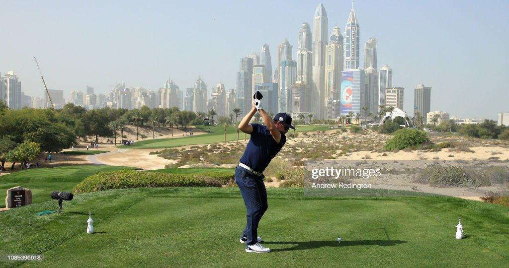 Omega Dubai Desert Classic - Day Three : Foto jornalística