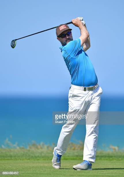 Mikko Korhonen of Finland during the final round of The Rocco Forte Open at The Verdura Golf and Spa Resort on May 21 2017 in Sciacca Italy