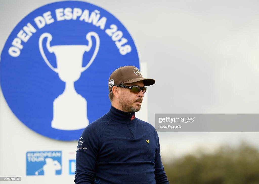 Open de Espana - Day One : News Photo