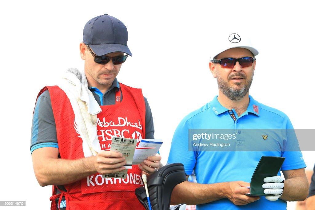 Abu Dhabi HSBC Golf Championship - Day One : Foto jornalística