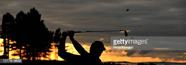 Mikko Korhonen of Finland tees off on the sixth hole during the first round of the Aberdeen Standard Investments Scottish Open at The Renaissance...