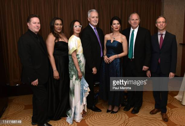 Mikko Nissinen Angelica Timas Lisa Tung Jeff Rosica Linda Pizzuti Henry Roger Brown and Kevin Sussman attend the Boston Arts Academy Foundation's...