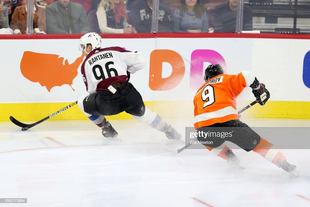 Colorado Avalanche v Philadelphia Flyers : News Photo