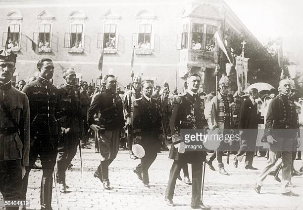 Miklos Horthy Hungarian Admiral and statesman served as the Regent of Hungary from March 1 1920 until October 15 1944 [Reichsverweser Nikolaus von...