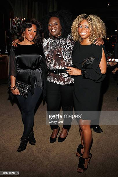 Miko Branch Angel Laws and Titi Branch attends the Target salute to Miko Branch and Titi Branch to celebrate being named two of Ebony Magazine's...