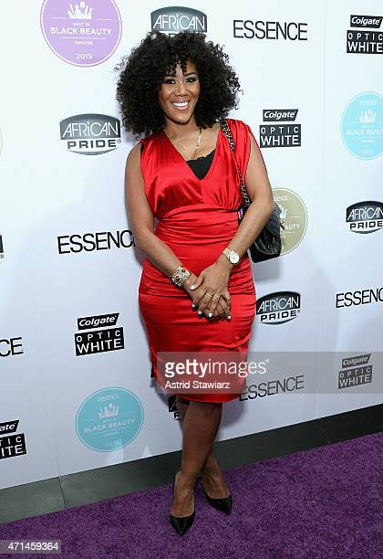 Miko Branch attends Essence's Best in Black Beauty Awards sponsored by African Pride and Colgate Optic White on April 28 2015 in New York City