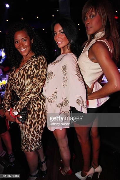 Miko Branch Danielle Staub and Shontelle attend the 4th annual Cristian Rivera Foundation Celebrity Gala at Copacabana on September 13 2012 in New...