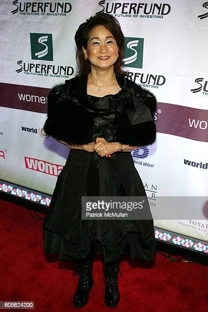 Miky Lee attends The 2006 Women's World Awards Third Annual Awards Gala Honoring Women Worldwide at Hammerstein Ballroom on October 14 2006 in New...