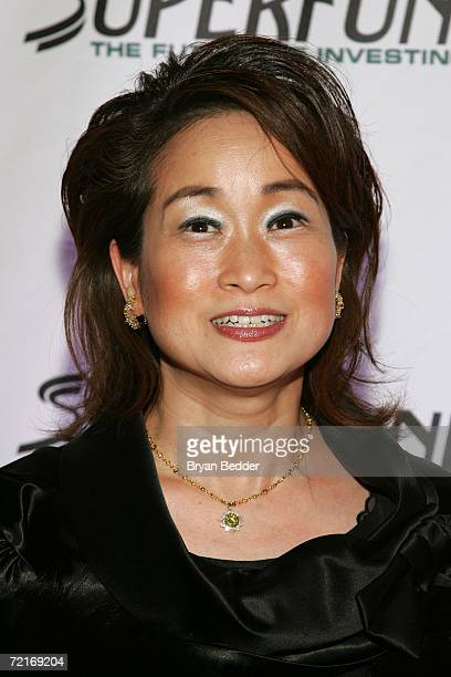 Miky Lee attends the 3rd Annual Women's World Awards at Hammerstein Ballroom October 14 2006 in New York City