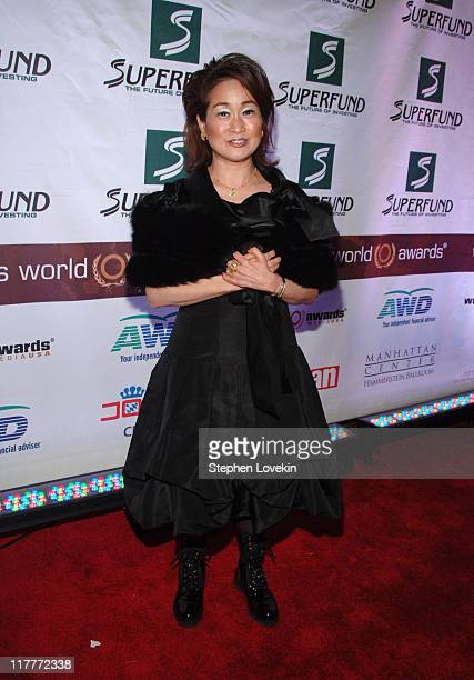 Miky Lee during The 2006 Women's World Awards Red Carpet at The Hammerstein Ballroom in New York City New York United States