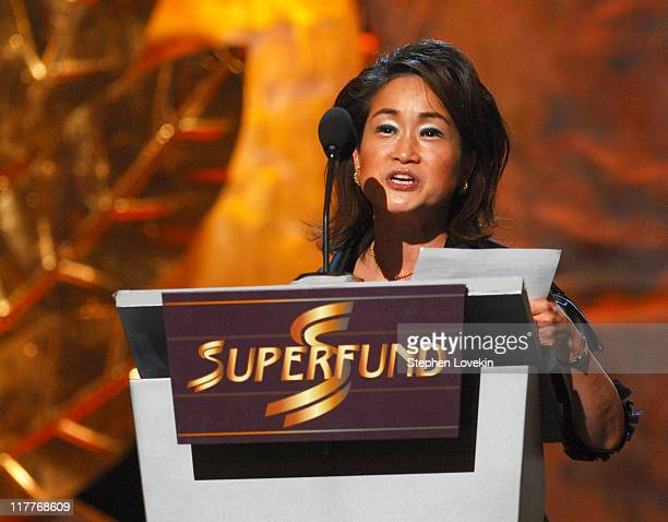 Miky Lee World Business Award during The 2006 Women's World Awards Show at The Hammerstein Ballroom in New York City New York United States