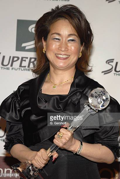 Miky Lee World Business Award during The 2006 Women's World Awards Media Room at The Hammerstein Ballroom in New York City New York United States