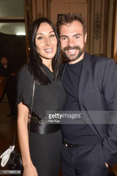 "Mila Dorr and Garry Dorr attend the Cocktail ""Karine Ohana And Co"" Hosted by Katia Solotsinskaya, Karine Ohana and Mikhail Makarov as part of Paris..."