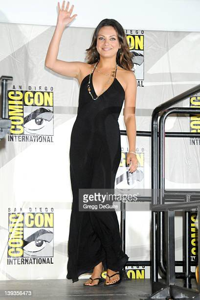 Mila Kunis arrives at the ComicCon International San Diego 2009 at the San Diego Convention Center in San Diego California on July 24 2009