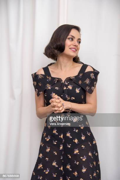 Mila Kunis at A Bad Moms Christmas Press Conference at the SLS Hotel on October 27 2017 in Beverly Hills California