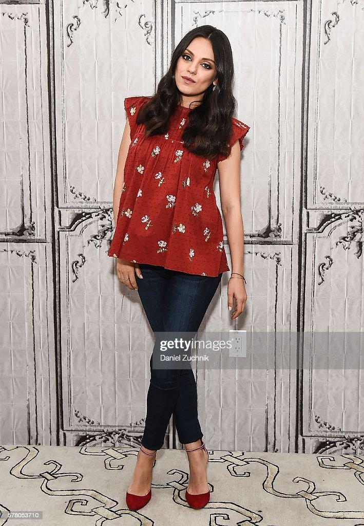 "AOL Build Speaker Series - Actress Mila Kunis Discusses ""Bad Mom"""