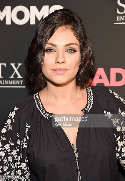 Mila Kunis attends 'Bad Moms' New York premiere at Metrograph on July 18 2016 in New York City