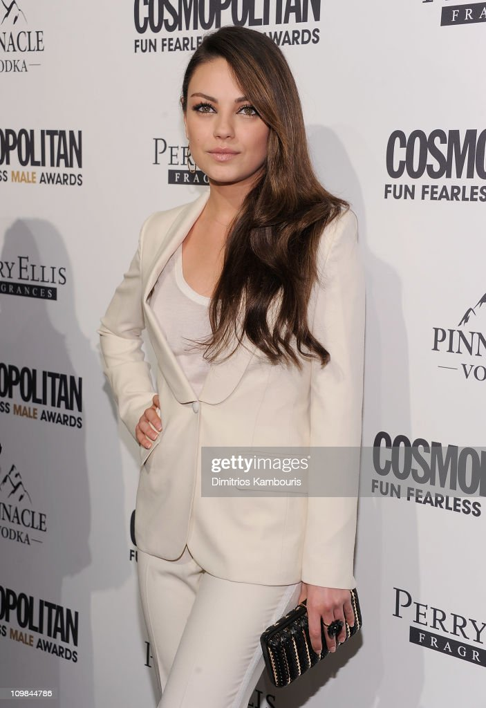 Mila Kunis attends Cosmopolitan Magazine's Fun Fearless Males Of 2011 at The Mandarin Oriental Hotel on March 7, 2011 in New York City.