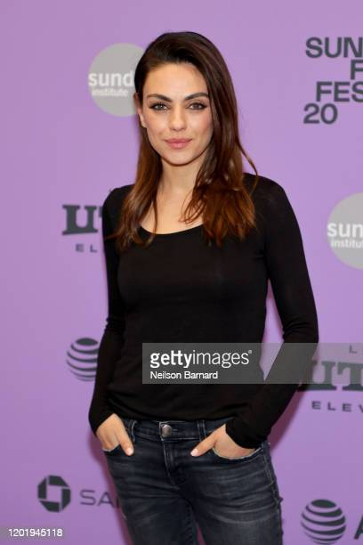 """Mila Kunis attends the 2020 Sundance Film Festival - """"Four Good Days"""" Premiere at Eccles Center Theatre on January 25, 2020 in Park City, Utah."""