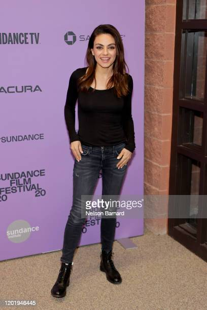 Mila Kunis attends the 2020 Sundance Film Festival Four Good Days Premiere at Eccles Center Theatre on January 25 2020 in Park City Utah