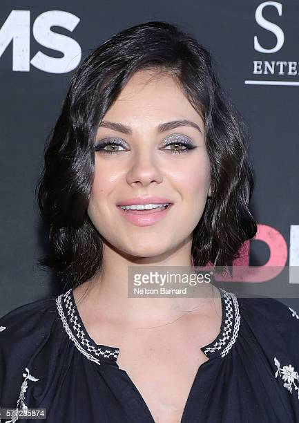Mila Kunis attends the 'Bad Moms' premiere at Metrograph on July 18 2016 in New York City