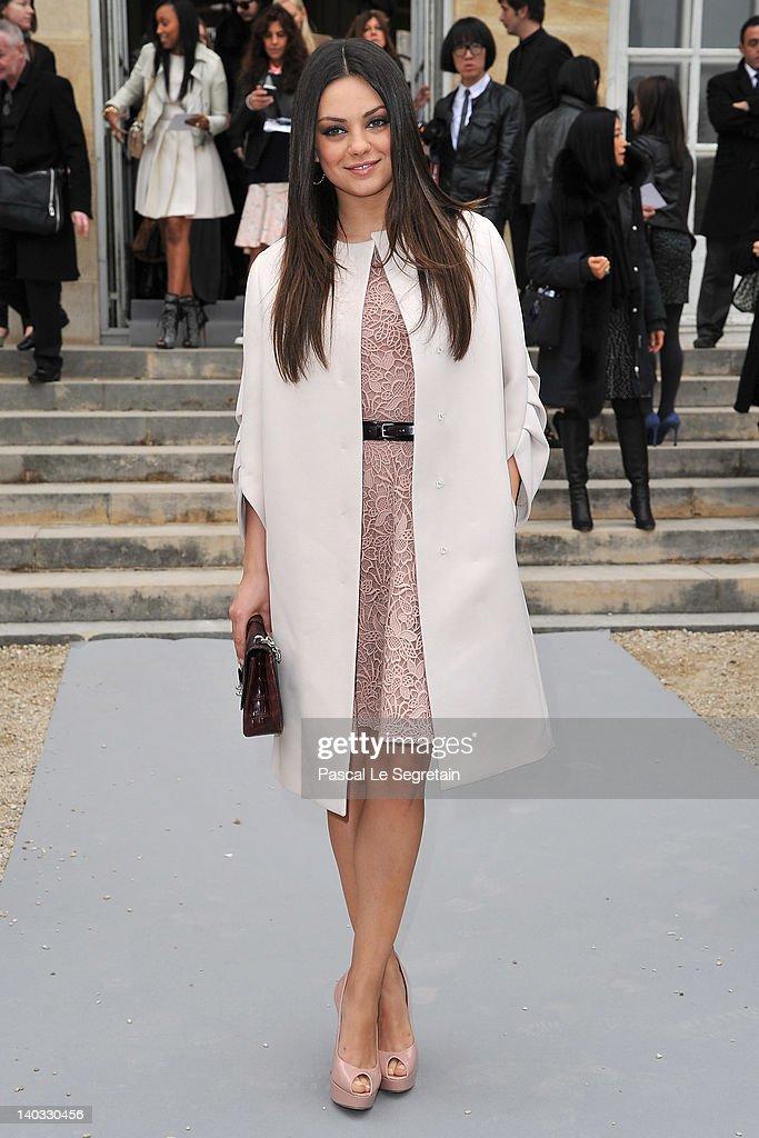Christian Dior: Garden Arrivals - Paris Fashion Week Womenswear Fall/Winter 2012