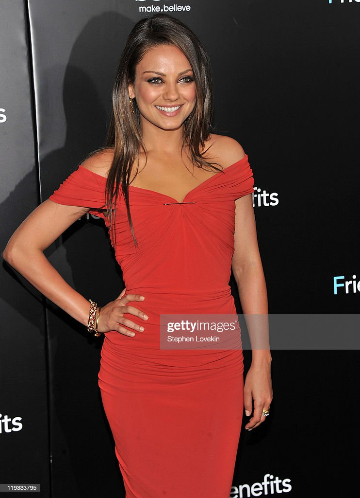 'Friends With Benefits' New York Premiere - Inside Arrivals : News Photo
