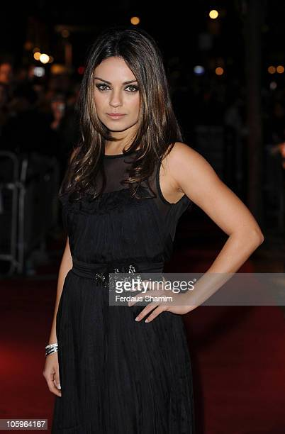 Mila Kunis attends the premiere of 'Black Swan' as part of the 54th BFI London Film Festival at Vue West End on October 22, 2010 in London, England.