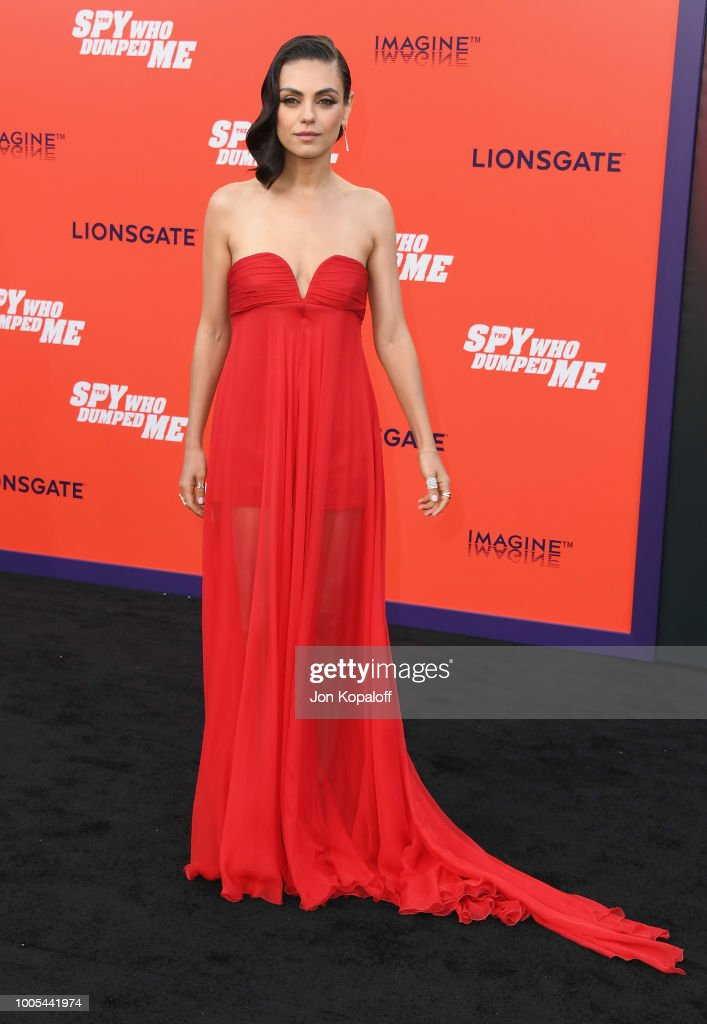 Premiere Of Lionsgate's 'The Spy Who Dumped Me' - Arrivals : News Photo