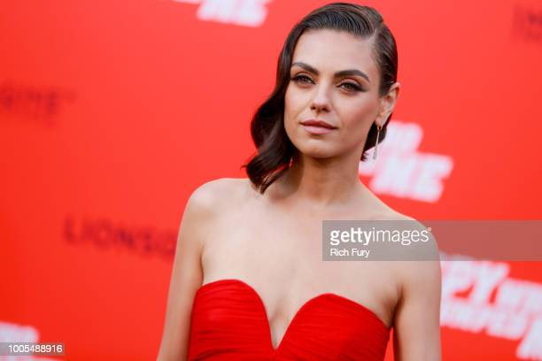 Mila Kunis attends the premiere of Lionsgate's The Spy Who Dumped Me at Fox Village Theater on July 25 2018 in Los Angeles California