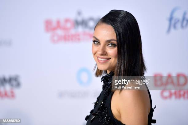 Mila Kunis attends the premiere of STX Entertainment's 'A Bad Moms Christmas' at Regency Village Theatre on October 30 2017 in Westwood California