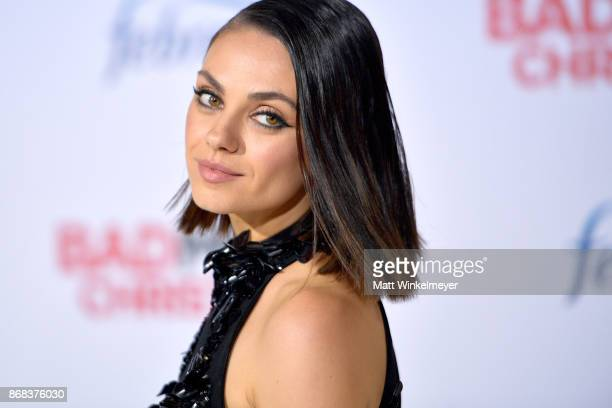 Mila Kunis attends the premiere of STX Entertainment's A Bad Moms Christmas at Regency Village Theatre on October 30 2017 in Westwood California
