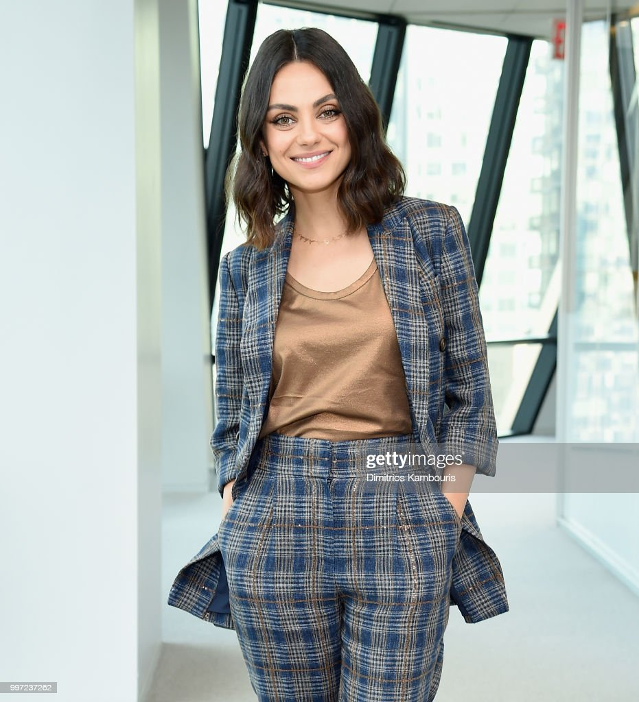 Mila Kunis attends The Screening Of 'The Spy Who Dumped Me' at Hearst Tower on July 12, 2018 in New York City.