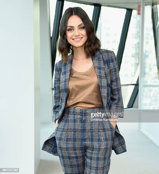 Mila Kunis attends The Screening Of The Spy Who Dumped Me at Hearst Tower on July 12 2018 in New York City