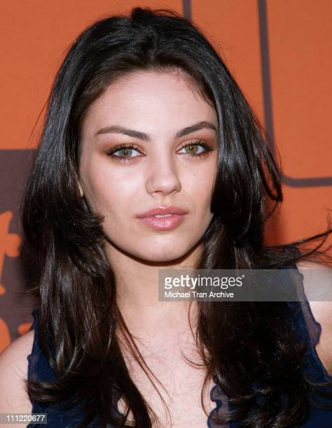 Mila Kunis during 'That 70s Show' Series Wrap Party Arrivals at Tropicana at The Roosevelt Hotel in Hollywood California United States