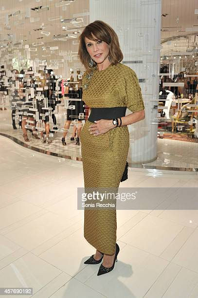Mila Mulroney attends Hudson's Bay And The Isabella Blow Foundation Present Fashion Blows at The Hudson's Bay on October 22 2014 in Toronto Canada
